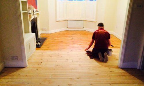 floor sanding in Clapham