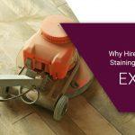 floor sanding staining